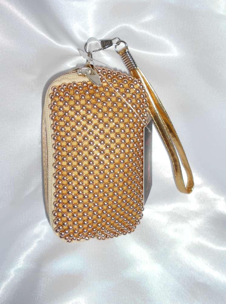 d3fd77cb7b3 Bolso pequeño metalizado Dorado - Tienda Online Yavay