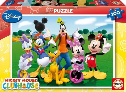 Puzzle Mickey Club House 100 piezas