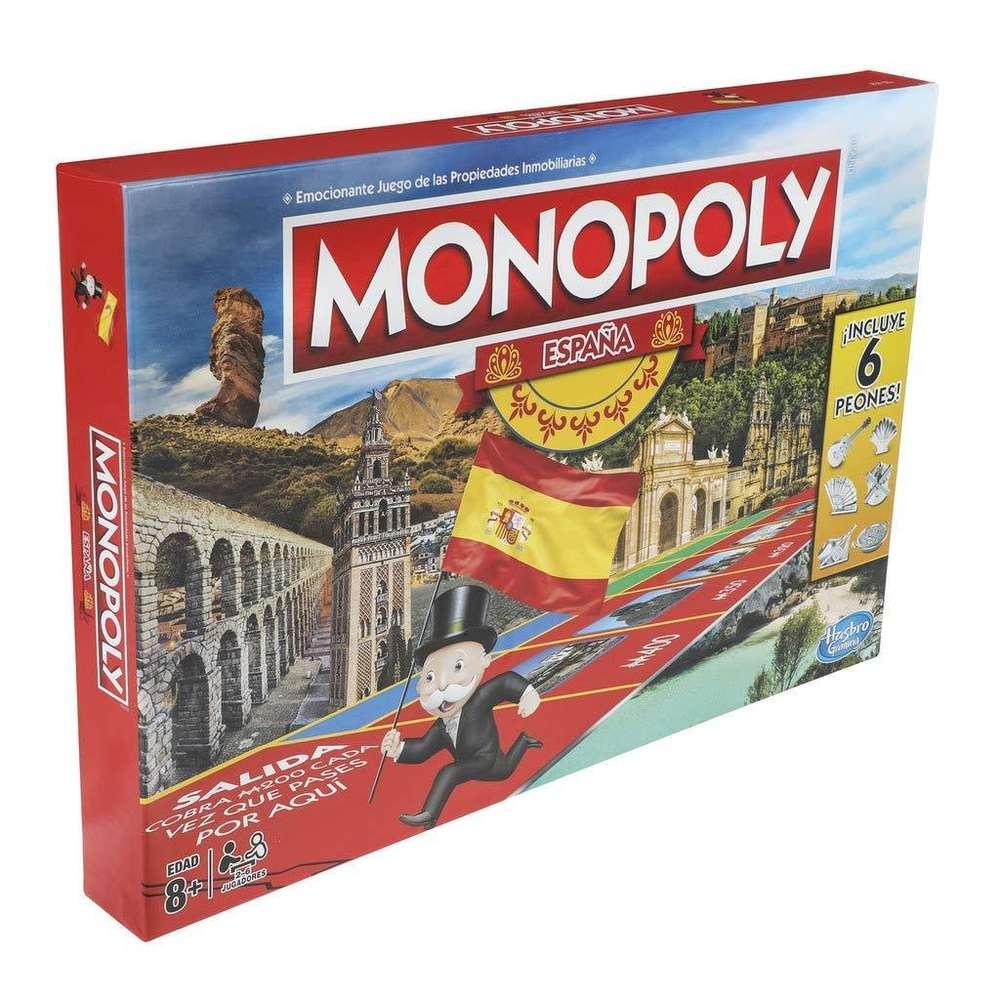 Juego De Mesa Monopoly Espana Tienda Online Yavay