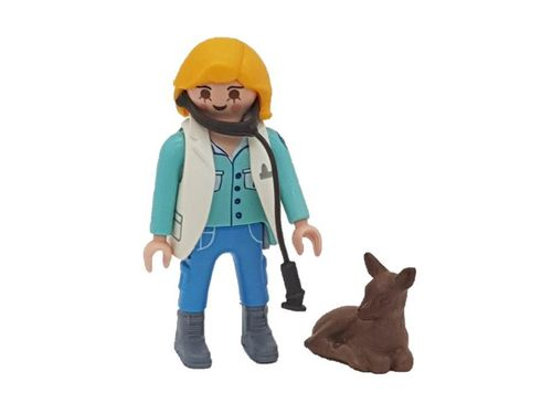 Playmobil 9333 Serie 13 Veterinaria