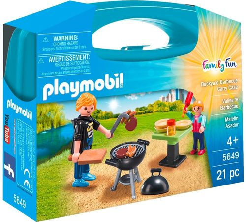 Maletin Barbacoa Playmobil 5649