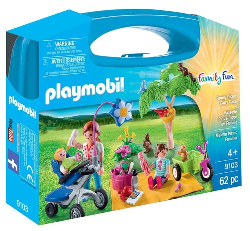Playmobil 9103 Maletin Pícnic Familiar