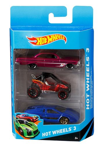 Pack Hot Wheels 3 Coches