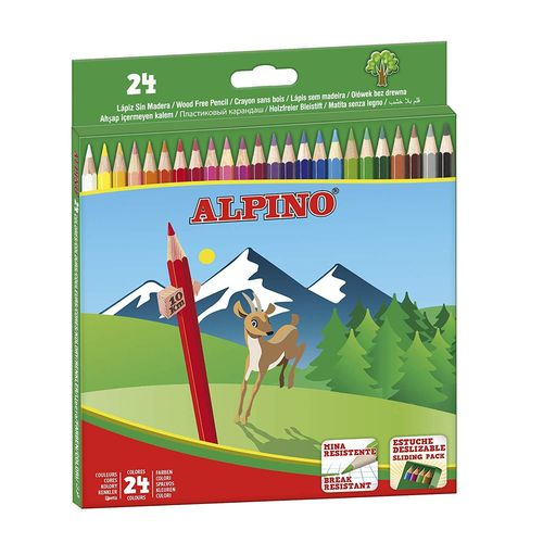 Pack Alpino 24 Lápices Colores
