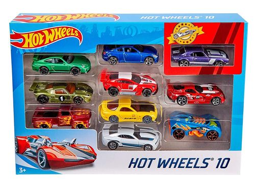 Pack Hot Wheels 10 Coches